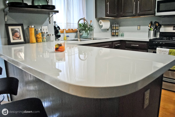 Your kitchen countertop doesn't have to look so sad - Here are 6 DIY solutions 6