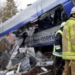 2 trains collide head-on in Germany