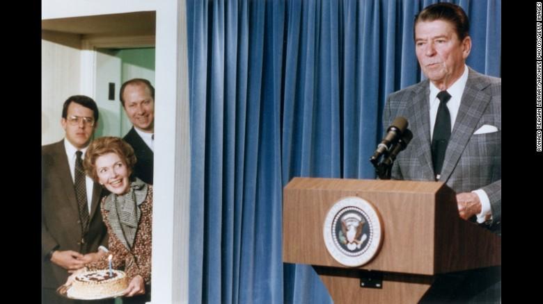 Nancy Reagan, a larger-than-life first lady