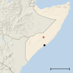 US kills 150 Somali fighters in airstrike (new york times)