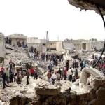 Syrian airstrikes kill at least 20