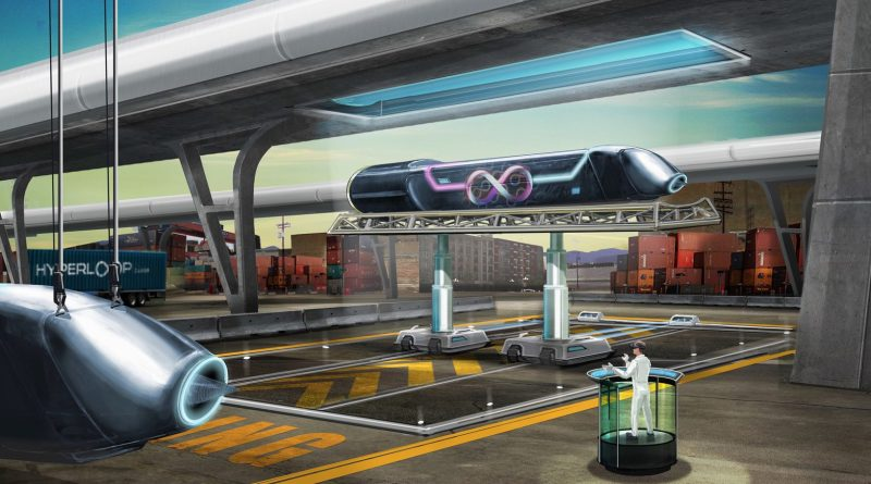 Hyperloop firm shows off the magnetic tech that will help it move at 760 mph (www.architecturaldigest.com)