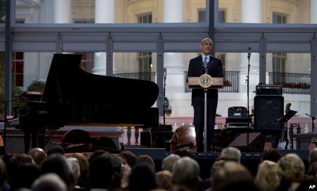 White House hosts international Jazz day concert