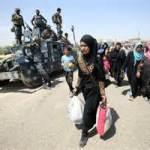 Thousands of civilian flee Fallujah