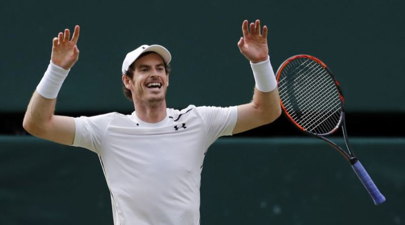 Andy Murray wins Wimbledon title