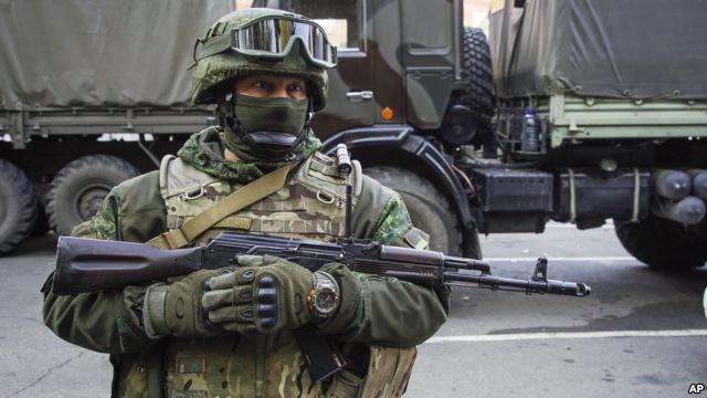 Russian buildup troops along Ukraine border