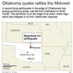 Earthquake shakes America's Great Plains
