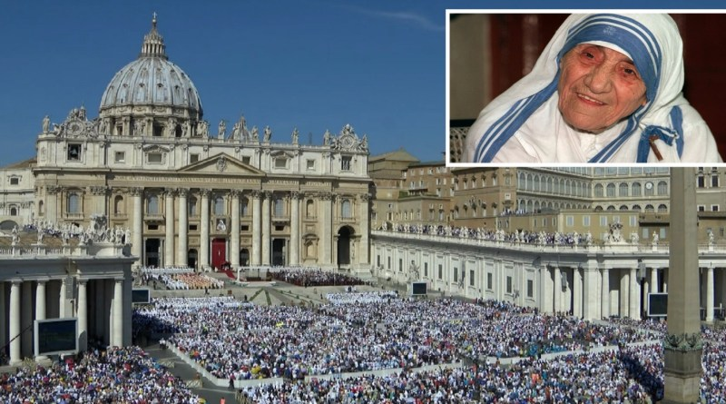 Mother Teresa declared saint