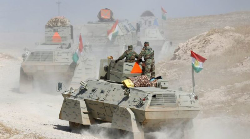 Kurdish report early success in Battle of Mosul