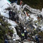 Plane with a Brazilian soccer team crashes in Colombia