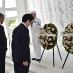 Abe tributes Americans killed in Pearl Harbor
