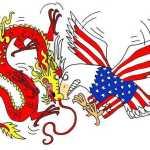 US China trade war loom
