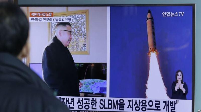 N Korea declares missile test success