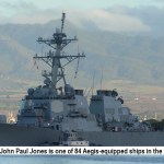 US Japan missile defense test USS John Jones