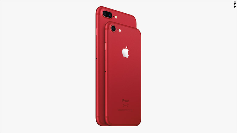 Apple unveils special-edition iPhone 7 in red