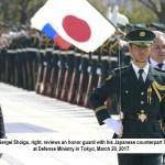 Japan Russia discus security and territorial dispute