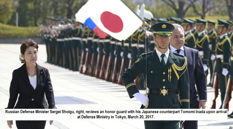 Japan Russia discus security and territorial dispute