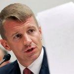 Erik Prince Blackwater founder met Russian on Trump's behalf