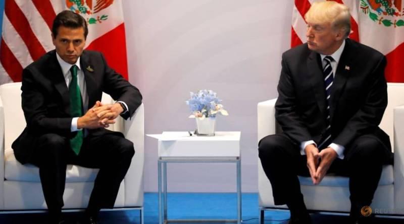 Trump pleaded Mexican President on border wall