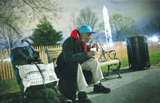Nearly 8,000 individuals in the District are homeless, including a number of senior citizens and U.S. war veterans. (Courtesy of hatdc.org)