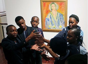 Youth learn the power of art. (Courtesy photo)