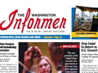 Washington Informer, June 30, 2016