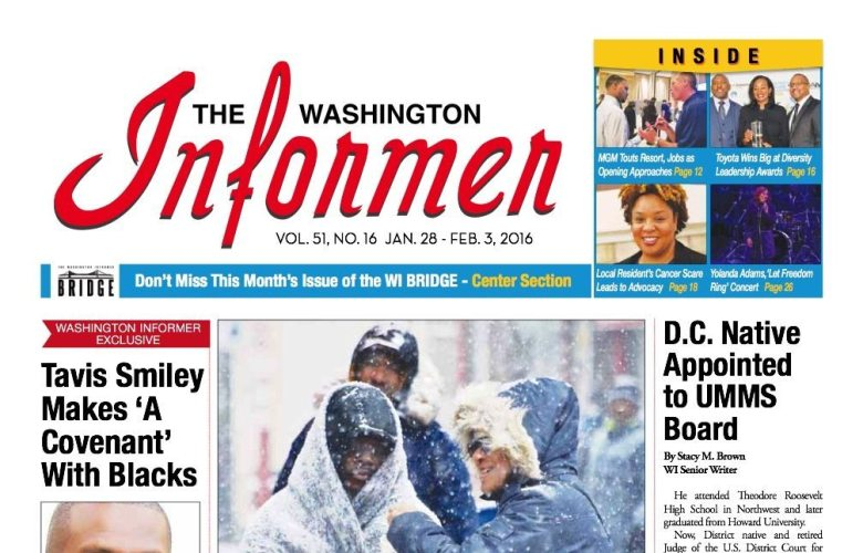 Washington Informer January 16, 2016