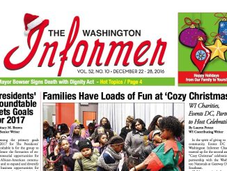 Washington Informer, December 22, 2016