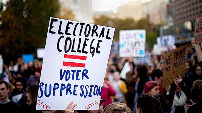 A movement is afoot to sway Electoral College voters away from President-elect Donald Trump. /Courtesy photo