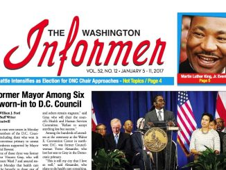 Washington Informer, January 5, 2017