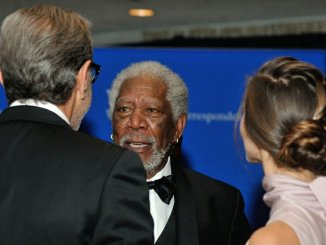 Actor Morgan Freeman attends the 2016 White House Correspondences' Association Dinner at the Washington Hilton Hotel on Saturday, April 30, 2016 in Northwest. /Photo by Patricia Little @5feet2