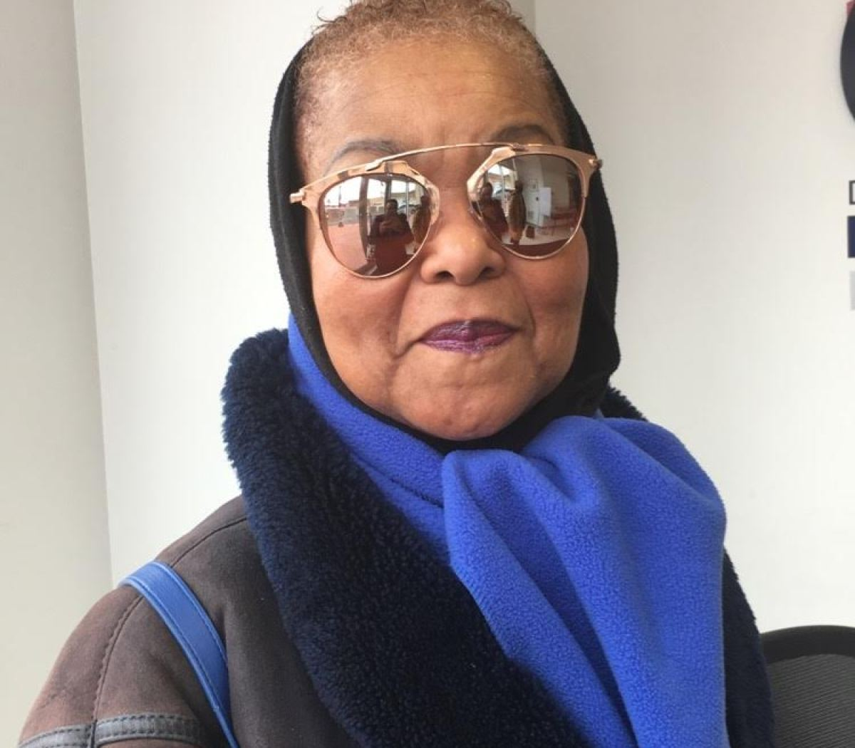 Patricia Terrell, Washington, D.C. — I think it's whatever the black community does to take advantage of the situation. … Like, these are his policies — how do we find a way to take advantage?