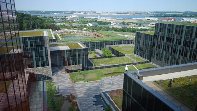 Green Roof at the U.S. Coast Guard headquarters in D.C. (Courtesy of gsa.gov)