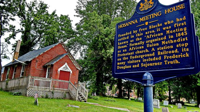 The historic Hosanna School celebrates its 150th anniversary. (Courtesy photo)