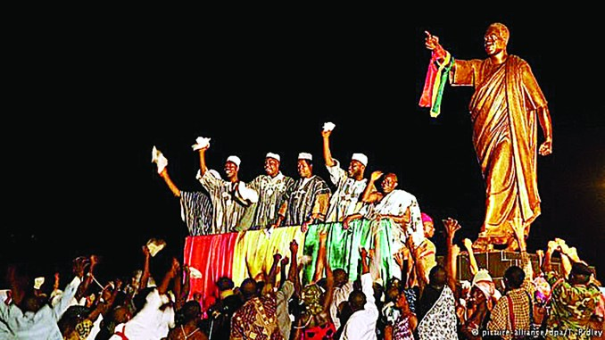 Residents are celebrating the 60-year independence anniversary of Ghana. (Courtesy of alliance/dpa/T. Ridley)