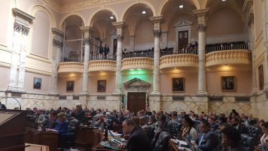 Members of the Maryland House of Delegates hold a session on April 5. (William J. Ford/The Washington Informer)