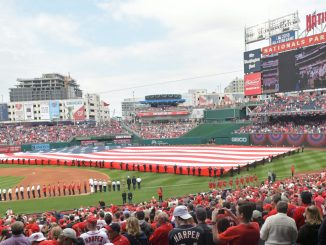 The Washington Nationals host their 2017 home opener against the Miami Marlins at Nationals Park in southeast D.C. on April 3. (John E. De Freitas/The Washington Informer)