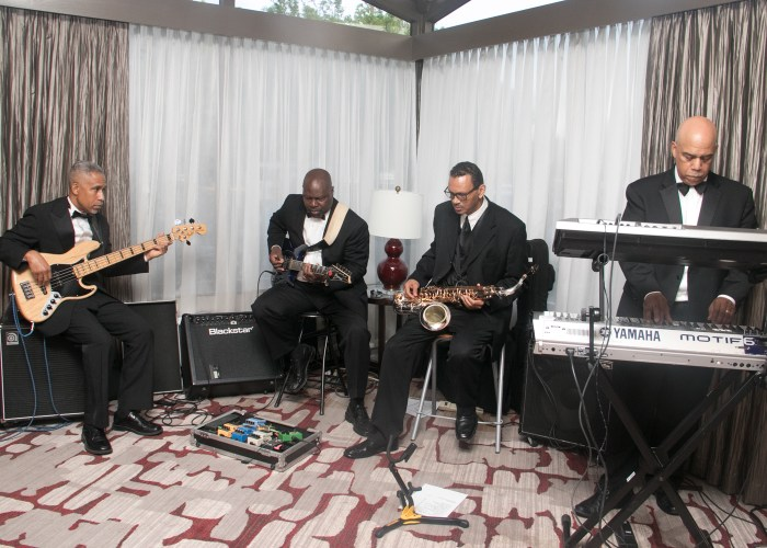The Exclusives Band performed at the 8th Annual Cardozo All-Met Hall of Fame Awards Dinner held on April 30, 2017 in Upper Marlboro.