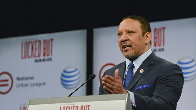 "Marc Morial, the president and CEO of the National Urban League, suggested that recent activism against many of the Trump Administration's proposals, caused the White House to change course. In this photo, Morial speaks during the ""2016 State of Black America"" launch event at the Newseum in Washington, D.C. (Freddie Allen/AMG/NNPA)"