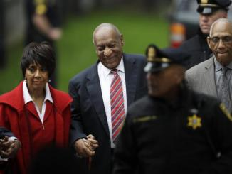 Actor Bill Cosby arrives at the Montgomery County Courthouse in Norristown, Pennsylvania, for the third day of his sexual assault trial on June 7, 2017. (Pool photo)