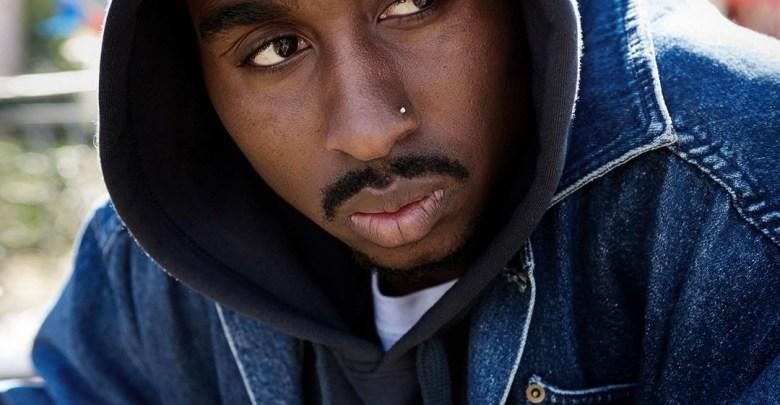 "Demetrius Shipp Jr. stars as Tupac Shakur in the rapper's 2017 biopic ""All Eyez on Me."" (Courtesy photo)"