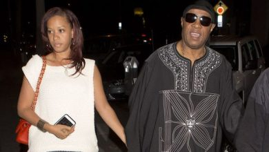 Stevie Wonder and new bride, the former Tomeeka Robyn Bracey of Prince George's County. /Courtesy Photo