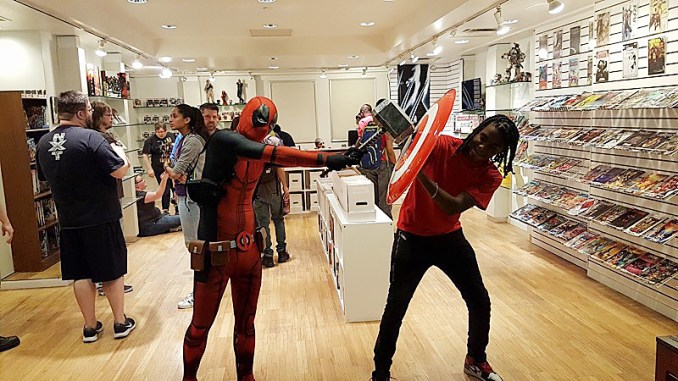 Venus's Comic Shop, the District's only black-owned comic book shop, can be found upstairs at Union Station. (Courtesy photo)