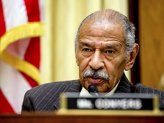 Rep. John Conyers Jr. issued a joint statement with Rep. Bobby Scott after reports of an alleged Justice Department memo stating that the Trump administration will go after affirmative action and discrimination against whites in higher education. (Photo by Detroit Free News)