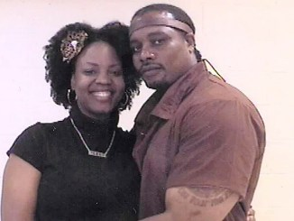 Reesy Floyd-Thompson and her husband, Nivens Thompson, who's serving a 12½-to-25-year prison sentence (Courtesy photo)
