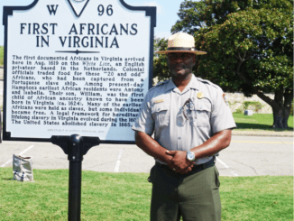 Terry Brown, National Park Service Superintendent of Fort Monroe (Sarafina Wright)