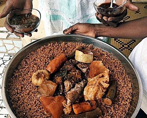 In Nigeria, Ghana, Senegal, the Jollof reigns supreme. (Courtesy of okayafrica.com)
