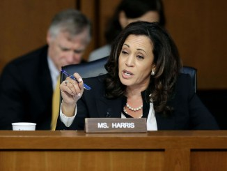 Sen. Kamala Harris said she would sign a bill to protect special counsel Robert Mueller from any interference by President Trump. (Courtesy photo)