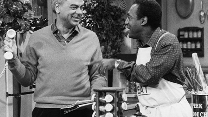 "Earle Hyman (left) portrayed Russell Huxtable on ""The Cosby Show."" (Courtesy of NBC Universal)"