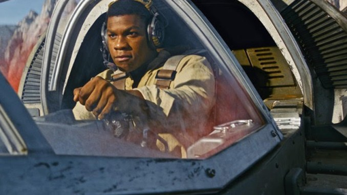 "John Boyega stars in ""Star Wars: The Last Jedi."" (Lucasfilm)"